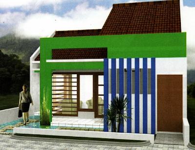 model rumah minimalis mungil satu lantai modern
