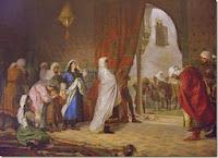Boabdil deja la Alhambra.
