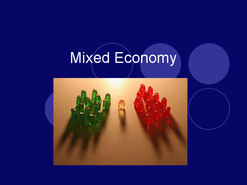 canadas mixed economy essay Canada's market economic system essay - canada runs on a market economic  system which means it bases its production and distribution on supply and.