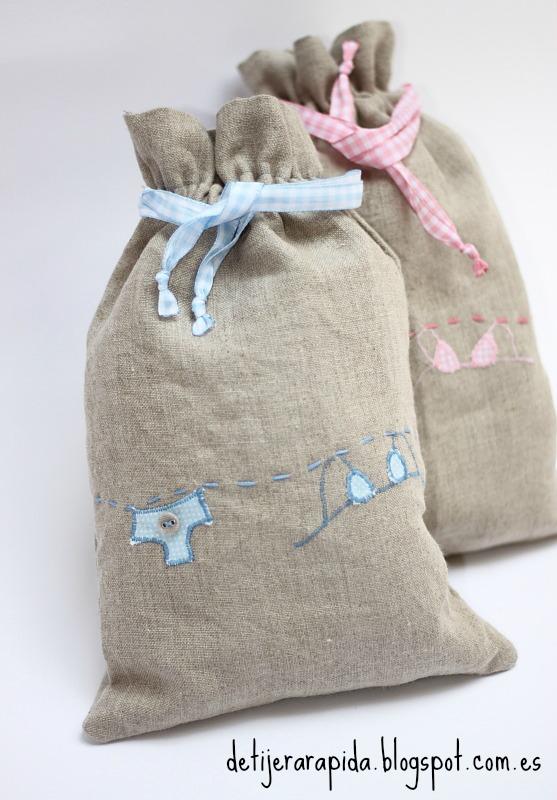 Coser bolsa para lencería facil