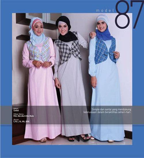 Baju Muslim & Busana Muslimah (Muslim Fashion) ~ Busana Muslim Terbaru