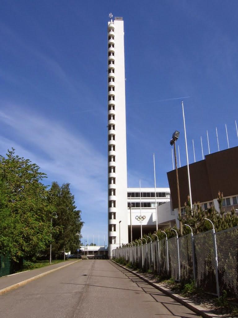 Stadionin torni kerrokset