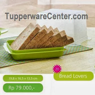 Bread Lovers, Tupperware Indonesia