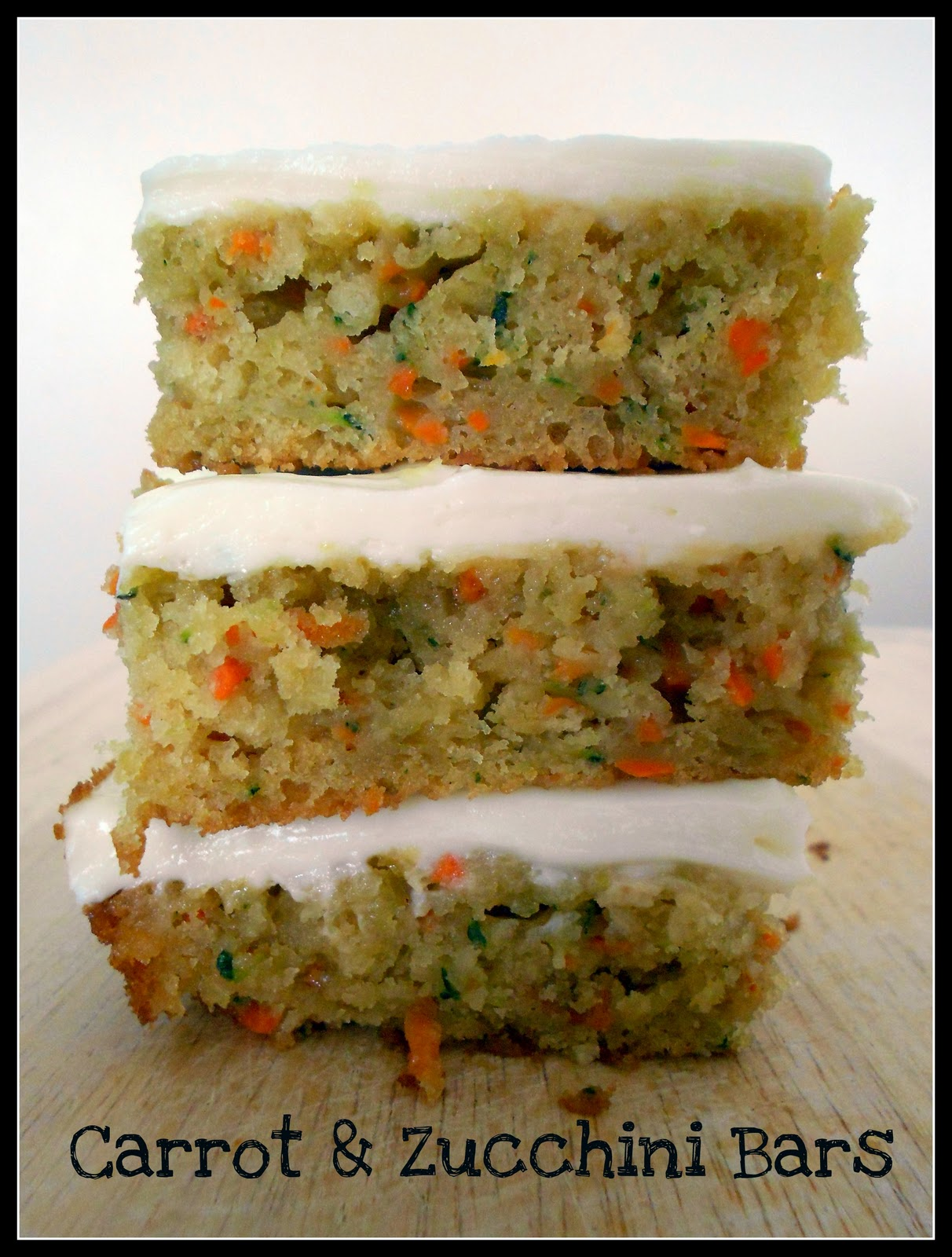 Carrot and Zucchini Bars with Lemon Cream Cheese Frosting / Six ...