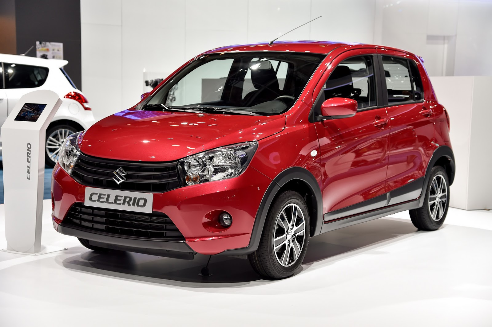 suzuki 39 s new celerio city car from 7 999 in the uk carscoops. Black Bedroom Furniture Sets. Home Design Ideas