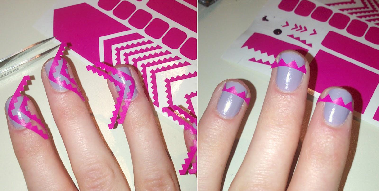 glam my mani nail
