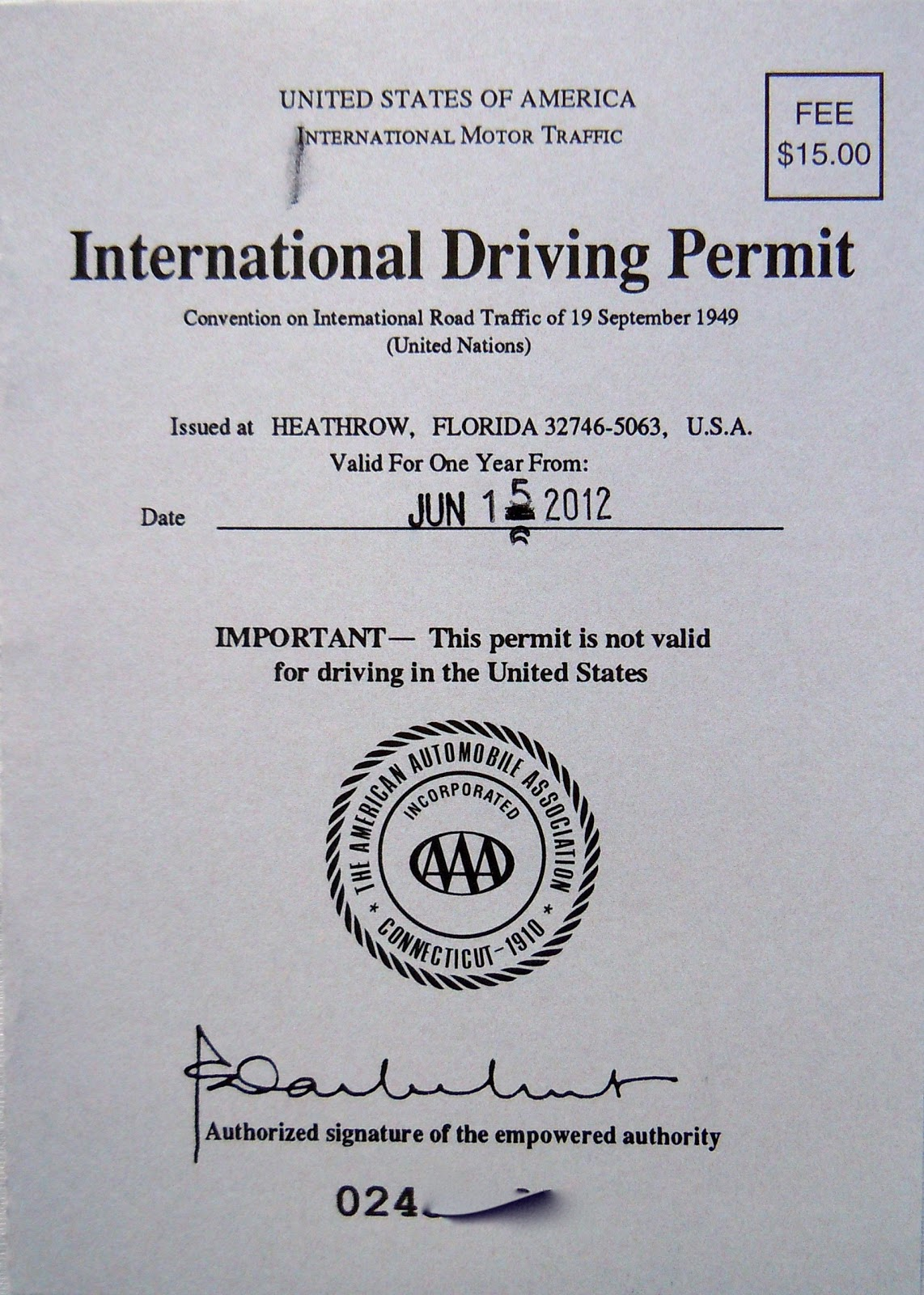 International Driving Permitspic