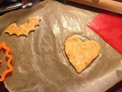 heart shaped cheese bite
