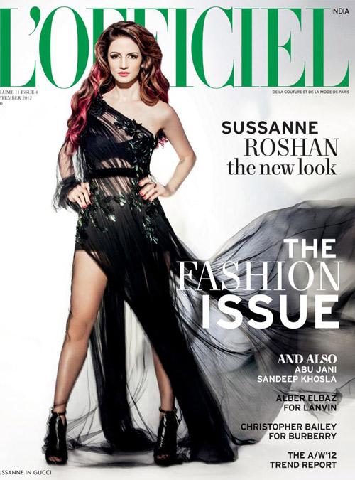Sussanne Roshan Lofficiel india 2012 hot