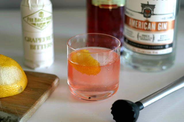 Gin-Campari Old Fashioned
