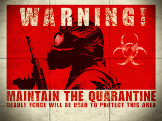 Warning! Maintain Your Distance -- Deadly Force will be Used to Protect this Area