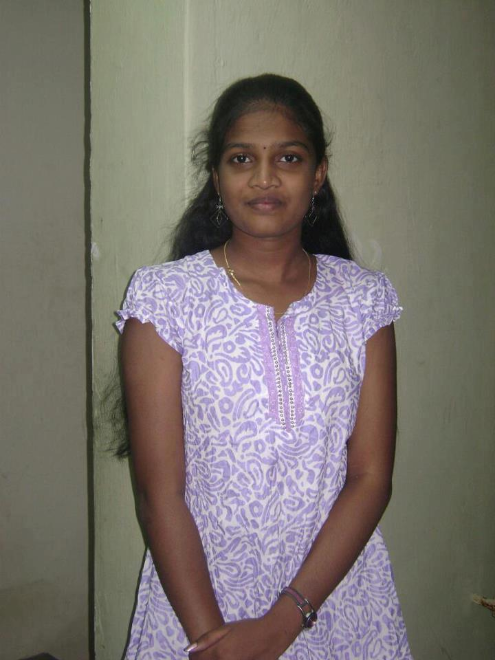 Beautiful Coimbatore Girl Getting Ready For College