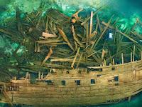 Ditemukan Kapal Terkutuk Penuh Harta Berusia 450 Tahun