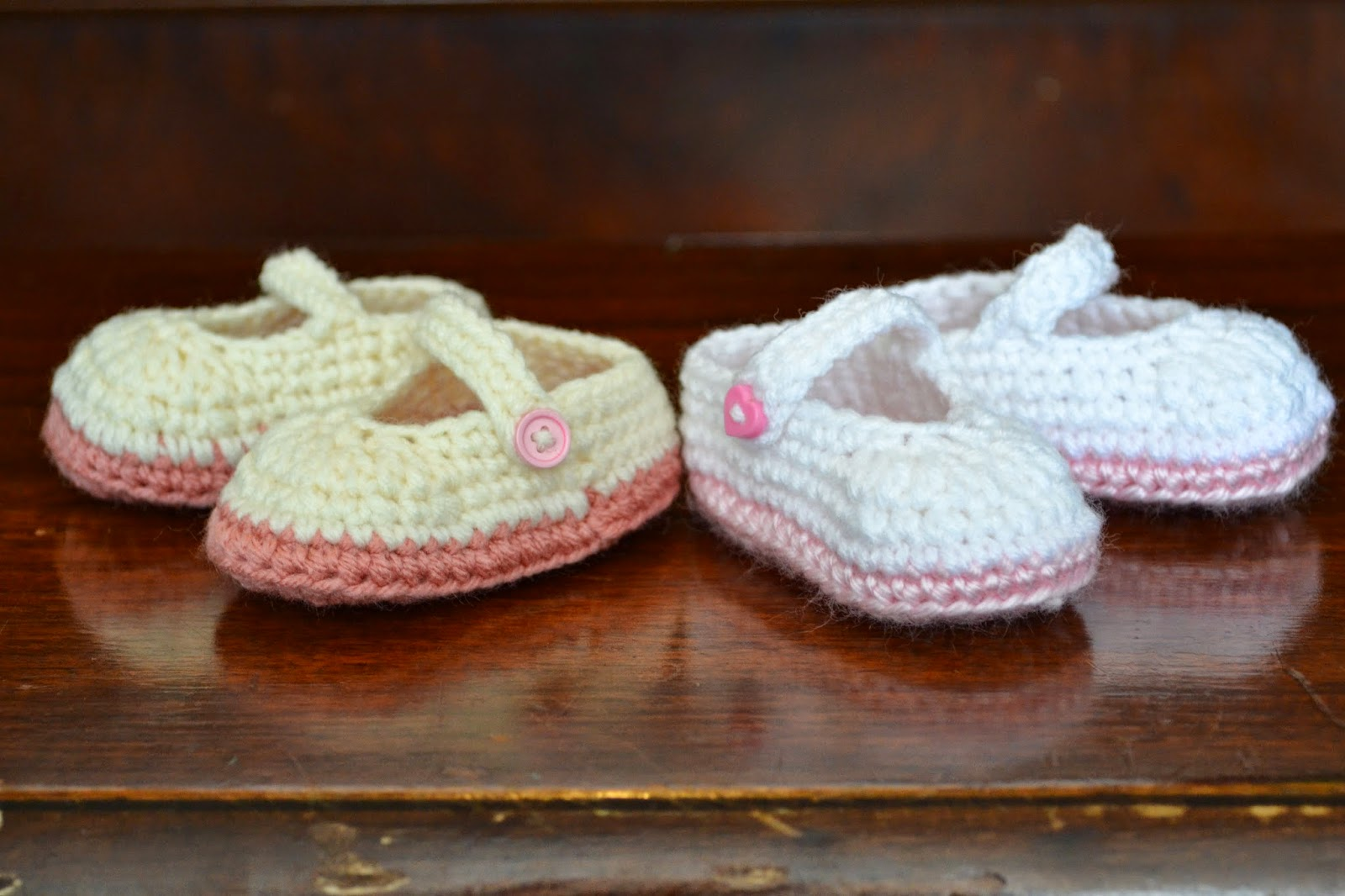 Knotty Knotty Crochet Pretty Plain Little Mary Jane Free Crochet