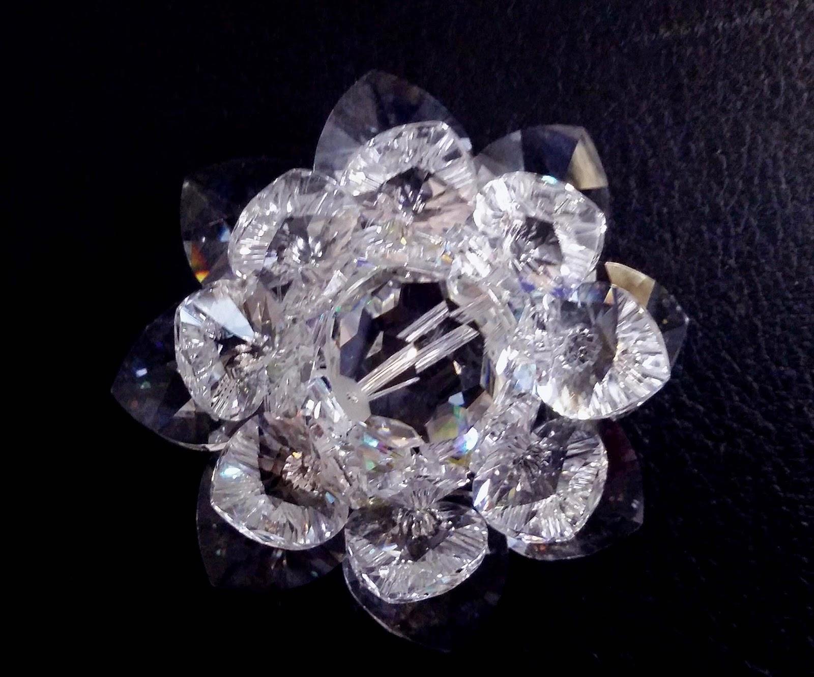 Sacred Crystal Lotus Clear Sacred Crystal Lotus Flower