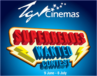 TGV Cinemas 'Superheroes Wanted' Contest