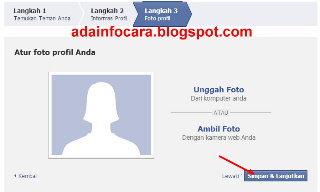 Buat facebook