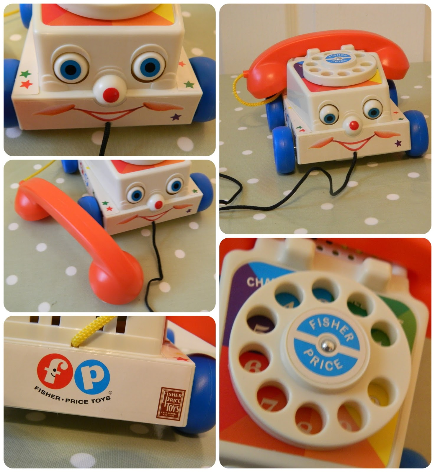 Fisher-Price Retro Classics Chatter Telephone