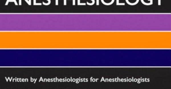 Anaesthesia Database Oxford American Handbook Of