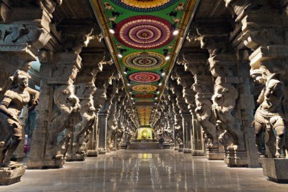 Madhura Meenakshi Temple India