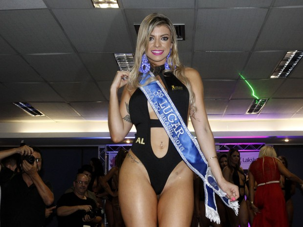Thais Pazeto, Alagoas, ranked third in the Muse of Brazil