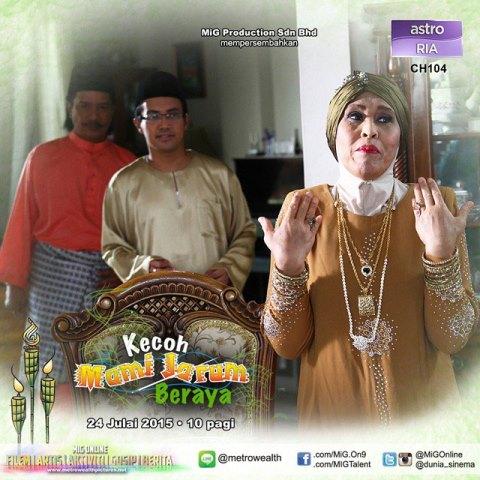 Kecoh Mami Jarum Beraya (2015), Tonton Full Telemovie, Tonton Telemovie Melayu, Tonton Drama Melayu, Tonton Drama Online, Tonton Drama Terbaru, Tonton Telemovie Melayu.