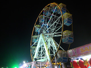 Big Wheel night photo - Leiria May Fair - Portugal
