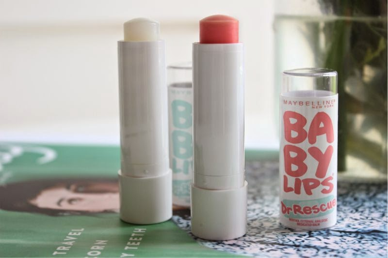 Maybelline Baby Lips Dr Rescue Lip Balms