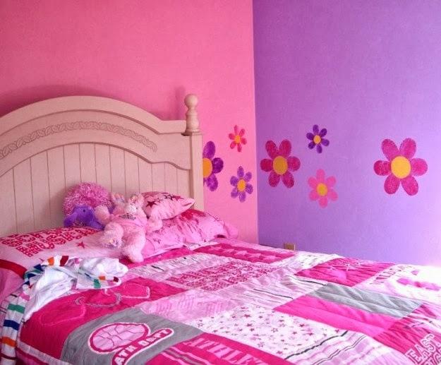 Pintar Dormitorio Niña: Dormitorios para ni?as en color rosa colores ...