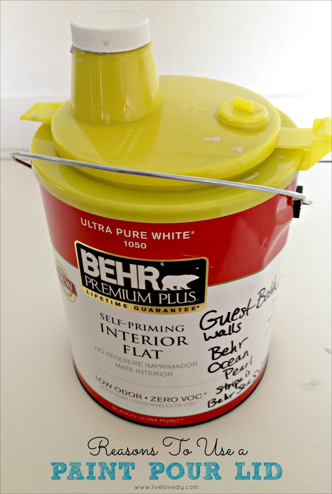 How To Pour Paint Out Of A Gallon Can