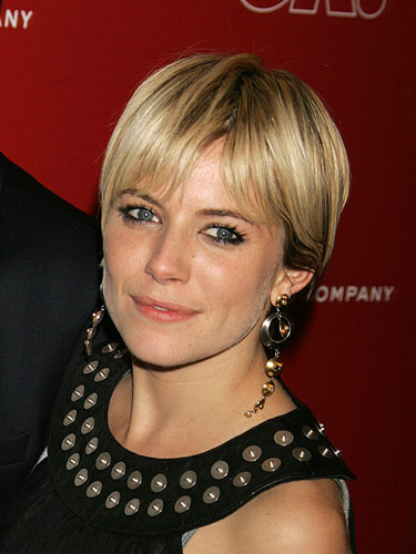 I Wanna Be Sienna Miller Similar to other short hairstyles, short choppy