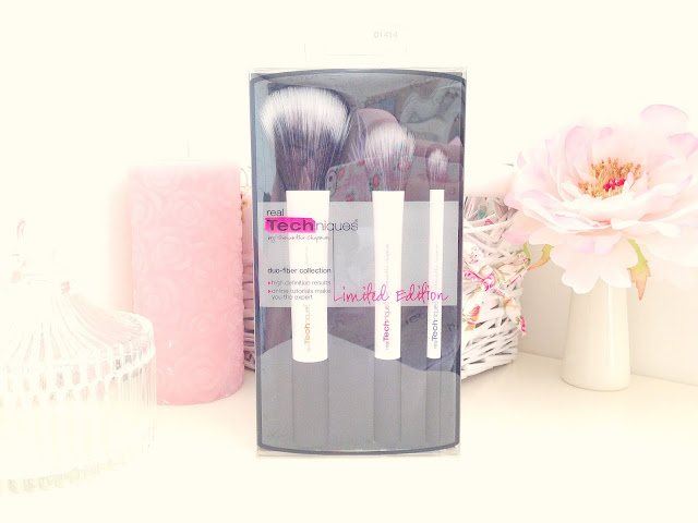 Real Techniques Duo Fibre Brush Set