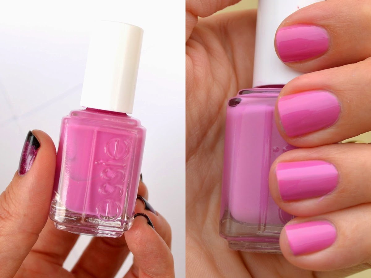 Essie Splash Of Grenadine My Second Favorite Polish Is A Crelly Pinky Purple And It Applies Like Dream This Isnt Part Their Permanent Line
