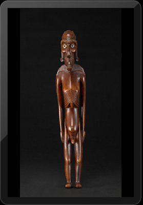 Moai Kavakava (Cadaverous Male Figure) - early to mid-19th centruy
