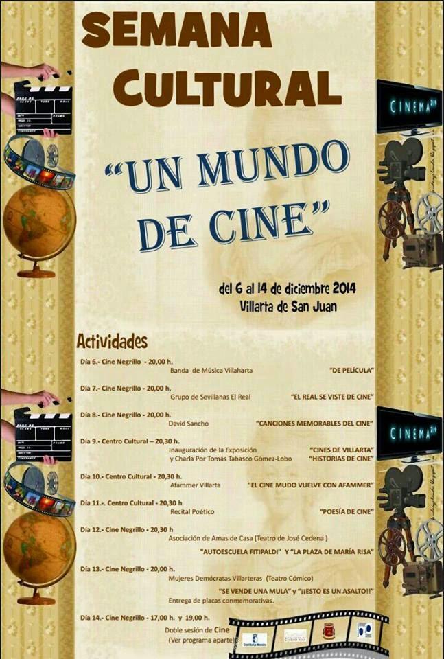 Semana Cultural 6-14 diciembre