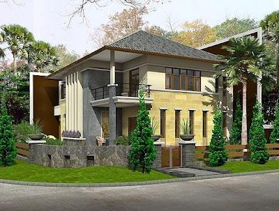 Inspirasi Eksterior Rumah Minimalis