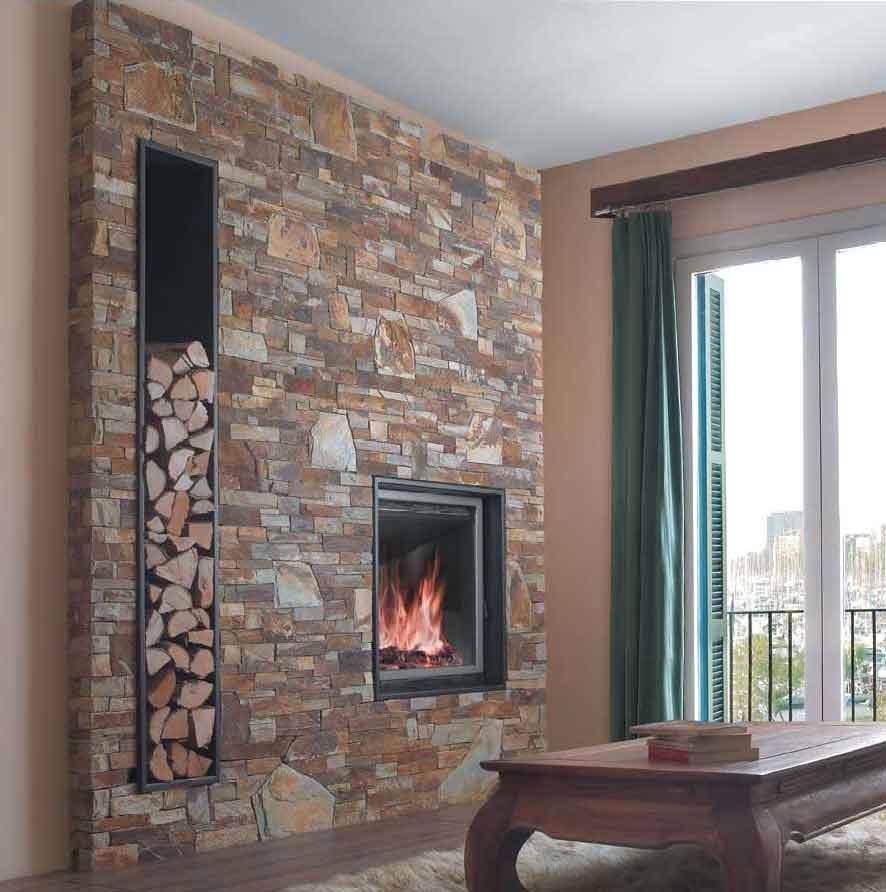 Tienda chimeneas chimeneas que crean ambiente - Diseno de chimeneas rusticas ...