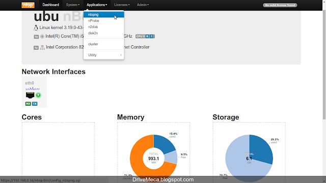 DriveMeca instalando Ntopng en Ubuntu Server paso a paso