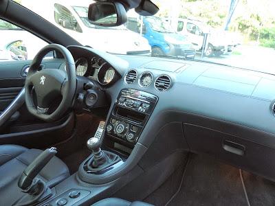Peugeot RCZ - wnętrze