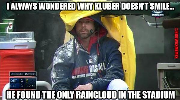 Corey Kluber Cleveland Indians Memes