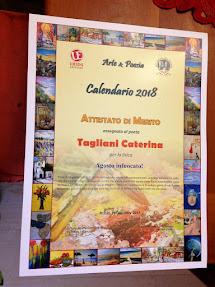 Calendario d'Arte e Poesia 2018