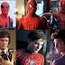 Spiderman e seus atores