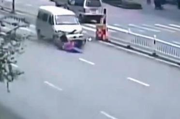Fatal Choque de un Scooter