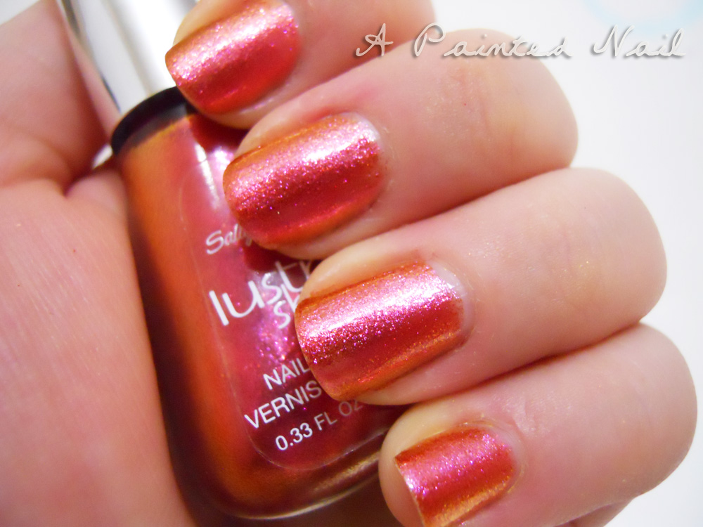 A Painted Nail: Sally Hansen Lustre Shine: Lava and Copperhead (Pic ...
