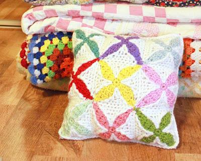 """IMG 8733 picnik 3 1/2"""" Quilt Inspired Crochet Square"""