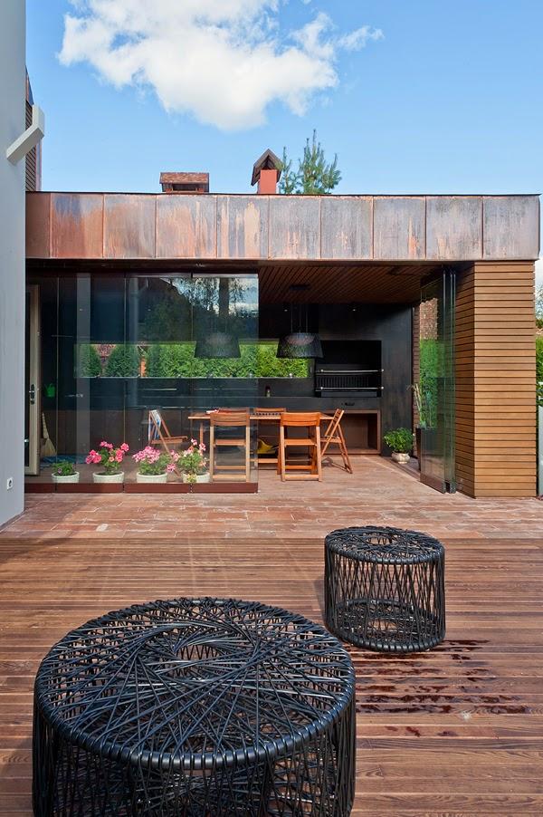 Casas minimalistas y modernas quinchos modernos Pisos modernos para casas minimalistas