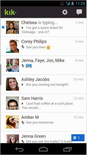how to download kik on android