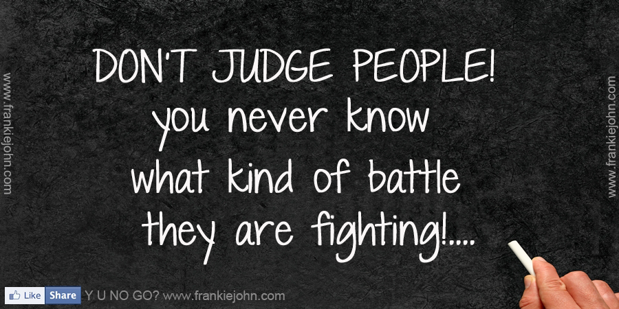 Quotes About People Who Judge You. QuotesGram