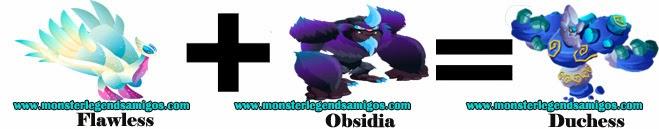 como hacer el monster duchess en monster legends formula 3