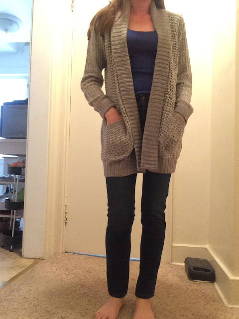 Stitchfix Colton Marled Knit Cardigan